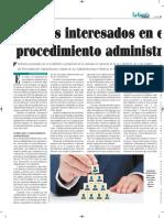 Los Administrados en El Procedimiento Administrativo Autor José María Pacori Cari La Gaceta Jurídica 28-12-16