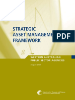 Strategic Asset Management Framework