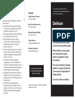 Delirium Brochure Used for Families Feb 2016