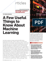 A Few Useful Things MachineLearning Domingos