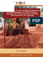 Expansion of Labour-Based Maintenance