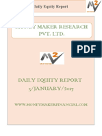 Daily Equity Report 3 Jan 2017