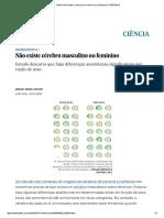 Não Existe Cérebro Masculino Ou Feminino _ Ciência _ EL PAÍS Brasil