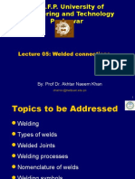 Lecture -05 Welded Connections.ppt