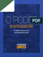 eBook - O Poder Da Autossugestão - RODRIGO CARDOSO - 10mb