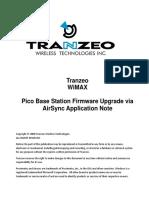 WiMAX PBS Firmware Upgrade via AirSync App Note 05
