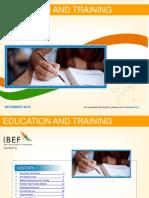 Education and Training November 2016