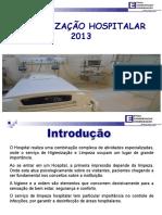 Treinamento Higienizacao Hospitalar 2013 1
