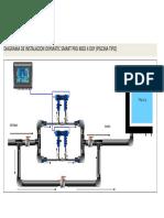 Diagrama de Instalacion Oxy Smart Pro