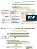 Intravenous Fluid Therapy in Adults in Hospital Algorithm Poster Set 191627821