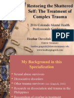 PP-2016 Colorado Mental Health Professionals Conference