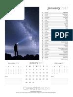 PhotoBlog365 Calendar 2017