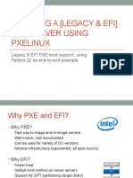 Creating a legacy + EFI PXE boot server using pxelinux (1)