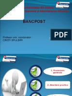 Bancpost Prezentare Management Bancar