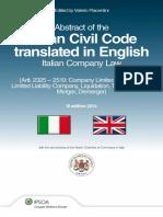 00181184_estratto Codice Civile Tradotto in Inglese