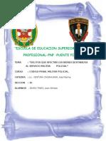 Código Penal Militar Policial Decreto Legislativo Nº 1094