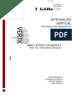 Integração Vertical 1