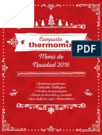 Fichas Menu Navidad 2016