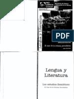 Atorresi Ana Los Estudios Semioticos El Caso de La Cronica a