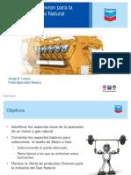 Lubricacion de Motores a Gas Natural
