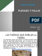 Pliegues y Fallas 2014
