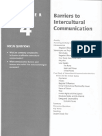 Chapter 4 Barriers to Intercultural Communication