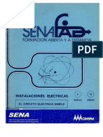 SENA - Instalaciones Eléctricas Modulo5 Unidad 15 Circuito Eléctrico Simple