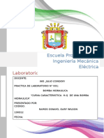 Lab. Ing Mecanica II - Informe 002 - Bomba Hidraulica