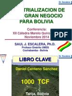 Dr. Saúl Escalera GN en Bolivia Cátedra Libre