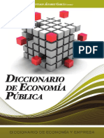 Diccionario de Economía Pública - Santiago Álvarez García
