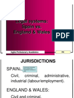 Differences in Legal Systems (1)