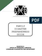 LPFD Family Disaster Preparedness Guide