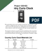 Clock - Country Curio Clock2