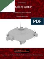 Traveller - Space Stations I, Refuelling Station v1.1 (2014)