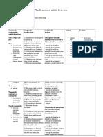 Planificare Unitate de Invatare