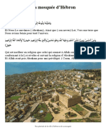 Historique d'Hébron