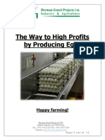 High Profits by Producing Eggs