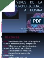 VIRUS  DE  LA INMUNODEFICIENCIA  HUMANA.ppt