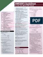 CFA Level 2 - QuickSheet.pdf