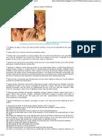 Orientações Para o Jejum Ortodoxo