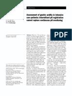 1996 - M Bonten - AssessmentofgastricacidityinintensivecarepatientsI[Retrieved 2016-12-17]