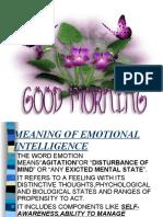 Meaning of Emotional Intelligence