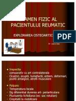 Examen Fizic Al Pacientului Reumatic