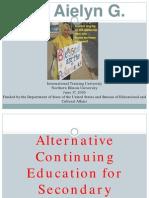 Ali, Aielyn G. PPT Sample advocacy community service Project Plan Proposal