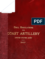 (1909) Coast Artillery Drill Regulations