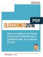 REGLAMENTO ELECCIONES MISION SUCRE 2016