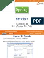 Curso Spring - Ejercicio01 - Instalacion STS
