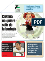 Cristina No Quiere Salir de La Burbuja
