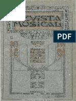 Revista Musical (Bilbao). 1-1911, No. 1