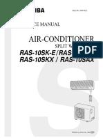 Toshiba Air Conditioner Service Manual